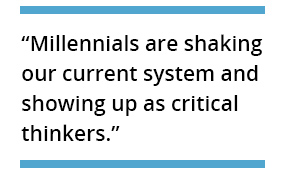Millennial Blog Quote